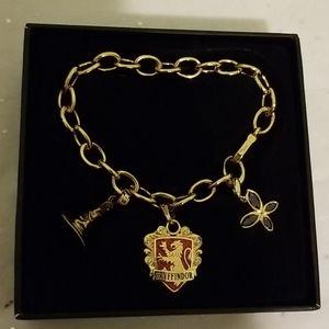 Jewelry - NWT Harry Potter Gryffindor Charm Bracelet